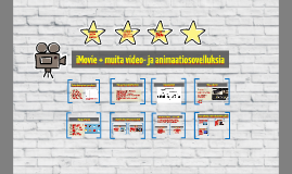 Copy of Video- ja animaatiosovelluksia mobiililaitteille