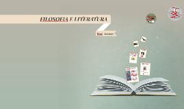 FILOSOFIA E LITERATURA
