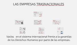 Copy of SURGIMIENTO DE LA EMPRESAS COMO ACTORES INTERNACIONALES