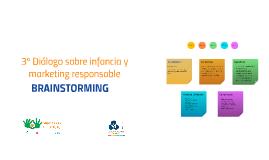 3º Diálogo sobre infancia y marketing responsable