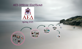 AED Spring 2013 Officer Elections