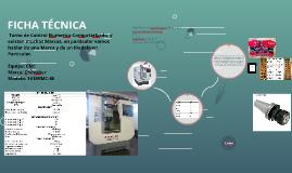 ficha tecnica CNC