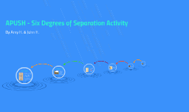 Six Degrees of Separation Activity