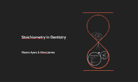 Copy of Stoichiometry in Dentistry