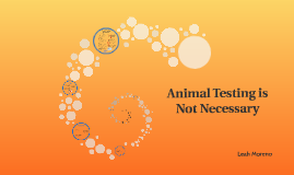 Animal Testing is Not Necessary