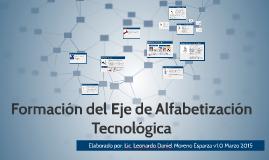 Formación del Eje de Alfabetización Tecnológica