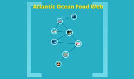 Atlantic Ocean Food Web