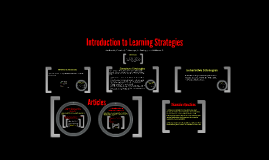 Copy of Introduction to Learning Strategies
