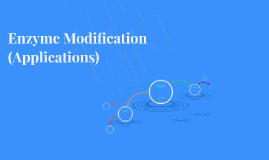 Enzyme Modification (Application)