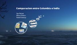comparacion entre Colombia e India