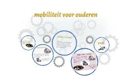 mobiliteit voor ouderen
