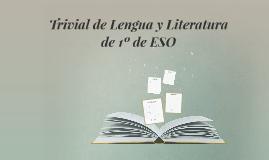 Trivial de Lengua y Literatura de 1º de ESO