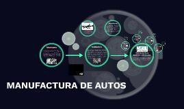 MANUFACTURA DE AUTOS