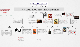 TIME LINE- ENGLISH LITERATURE II