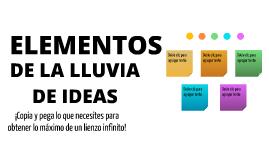 Plantilla - Elementos de Lluvia de Ideas by Juan Diego Polo