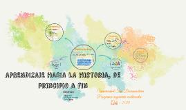 Aprendizaje hacia la historia de principio a fin