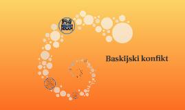 Baskijski konfikt
