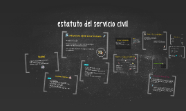 estatuto del servicio civil