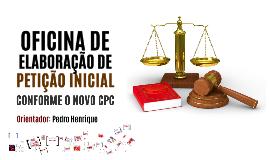 Oficina - Elaboração de Petição Inicial - 17.11.2016