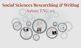 Social Sciences Researching & Writing