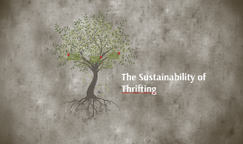 The Sustainability of Thrifting