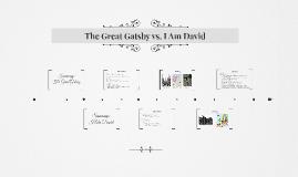 The Great Gatsby vs. I Am David
