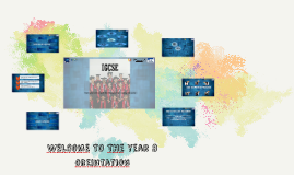 Copy of WELComE TO THe year 8 invitation