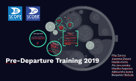 Copy of Pre-Departure Training 2018