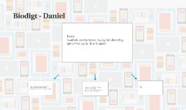 Biodigt - Daniel