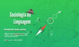 Sociologia da linguagem - aula 06