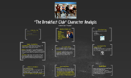 breakfast golf club personality composition upon the particular story