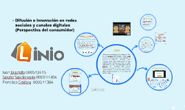 Difusion e innovacion en redes sociales y canales digitales