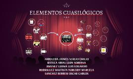 ELEMENTOS CUASILOGICOS