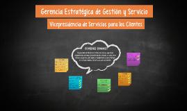 gerencia estrategica de gestion y servicio
