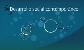 Desarrollo social contemporáneo