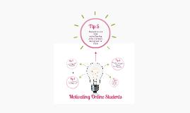 Motivating online students