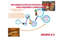 Implementación de procesos contables para pequeños comerciantes