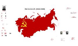 Die U.d.S.S.R. (1924-1939)