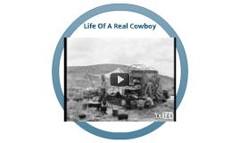 Real Life Of A Cowboy