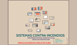 Copy of SISTEMAS CONTRA INCENDIOS