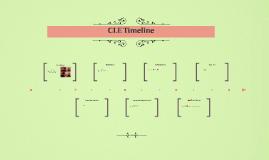 CLE Timeline