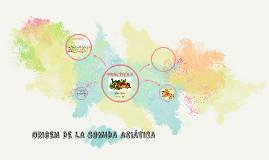 ORIGEN DE LA COMIDA ASIÁTICA