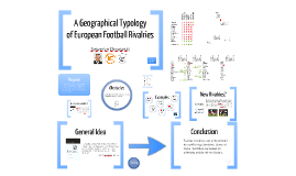 A Geographical Typology of European Football Rivalries