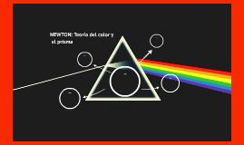 NEWTON: Teoría del color y el prisma