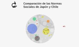 Copy of Normas sociales de Japón y Chile