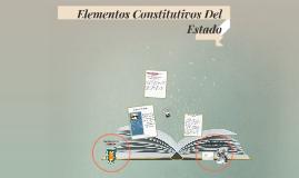 Elementos Constitutivos Del Estado