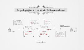 Pedagogía en el contexto latinoamericano