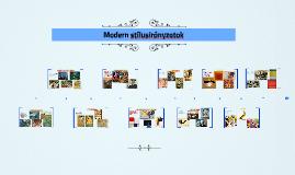 Modern stílusirányzatok