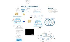 Unit 4C: Judicial Branch