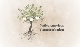 Copy of Native American Communication